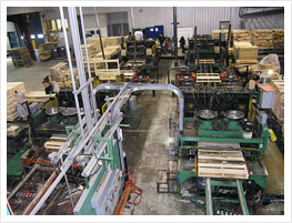 Pallets manufacturing