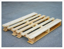 Double bridge wing pallet
