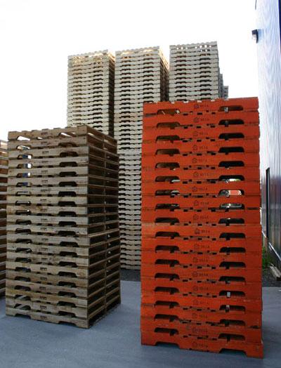 Wooden pallet, loading pallet, wooden case, dried pallet ...
