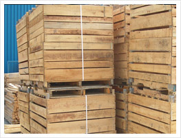 LCN wooden crates