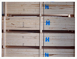 Long wooden Crates